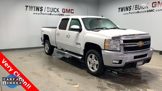 Pre Owned 2013 Chevrolet Silverado 2500hd Ltz 4d Crew Cab In